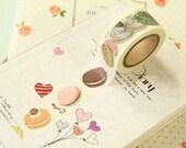 CAKES Sweet Cartoon Washi Masking Tape