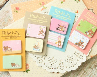 Rilakkuma Bear SIDE IT Cartoon Sticker Notes