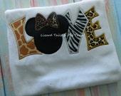 Animal Print Shirt Animal Kingdom Love Disney Wild Shirt