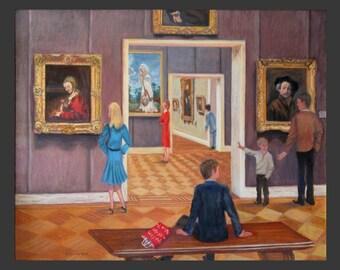 Metropolitan Museum Rembrandt Gallery by Ronnie Levine
