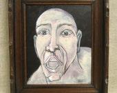Male Portrait , Portrait Painting , Wil Shepherd , Portrait , Fine Art , Male Portraiture , Painting , Wil Shepherd Studio , Original Art