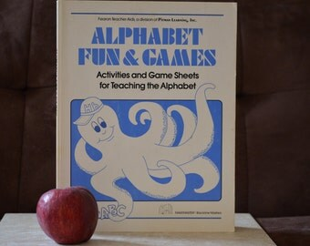 Alphabet Fun and Games Activities and Game Sheets/Jill M. Coudron/ ISBN 0822402955/Blackline Masters/Teaching Tool/Homeschooling/1984