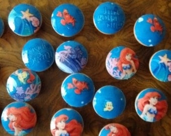 Handmade Knobs Drawer Pulls Little Mermaid Dresser Knob Pulls Switch Plate Covers to Match in Shop