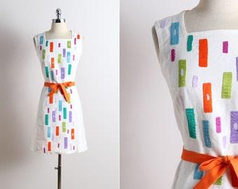 Vintage 60s Dress | Lydia de Roma | vintage 1960s dress m medium | 5736