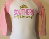 Southern Princess Girls shirt