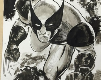 Wolverine drawing by Steve Lieber