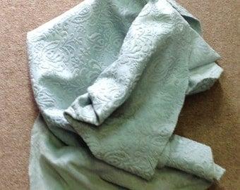 PREM491.  Suede Embossed Leather Cowhide