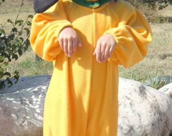 Yellow Dog Costume in Cotton for Infant, Toddler & Child