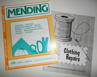 Mending Clothing Repair Instruction Booklets