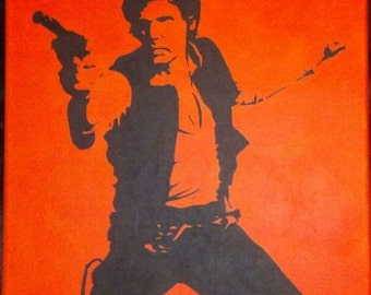 Han Solo painting