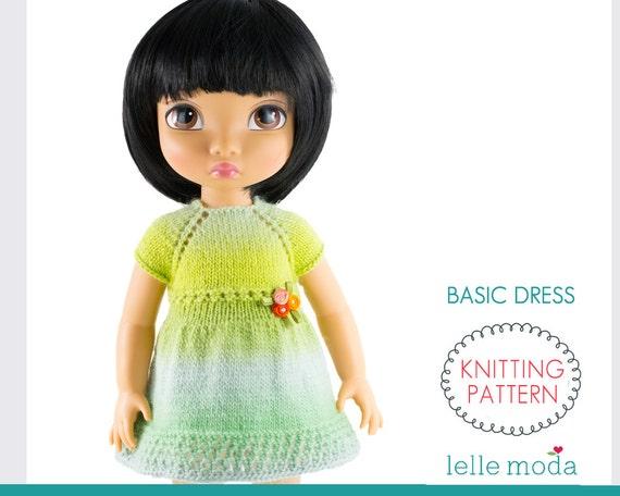 Disney Animators Doll Clothes Knitting Pattern 16 inch Doll