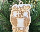 Cloth Diaper Ornament - Cloth Diapering - Christmas Ornament - We love fluff