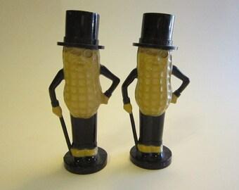 vintage MR. PEANUT salt and pepper shakers