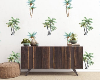 Vinyl Wall Sticker Decal Art   Palm Tree Pattern Part 40