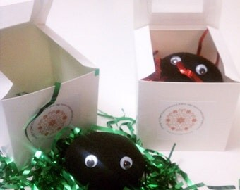 ON SALE Lump of Coal - Christmas gift wrapped -cute and funny gift idea