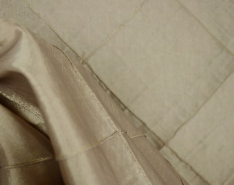 Fabric REMNANT 9 Yards Colchester Diamond Pintuck Polyester
