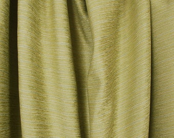 Green Yellow Chenille Upholstery Fabric Jace Sea