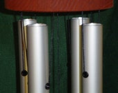 This and That Windchimes 27inch Aluminum and Wood, Color and Sail Choices