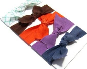 Set of 5 Hair Ties, Ponytail Holders, Elastic Hair Ties, Elastic Bracelet, Girl Baby Woman Ponytail Holder, Ponytail Elastic, HairBand