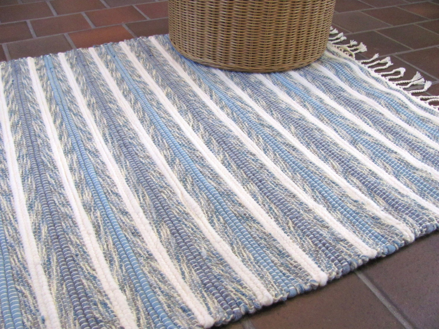 Rustic French Country Home Decor Rug Farmhouse Decor Coastal