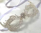 Art Deco Mask, Great Gatsby Mask, Madri Gras Mask, Masquerade Ball Mask, Masquerade Party Mask, Costume Party Mask, Silver Party Mask