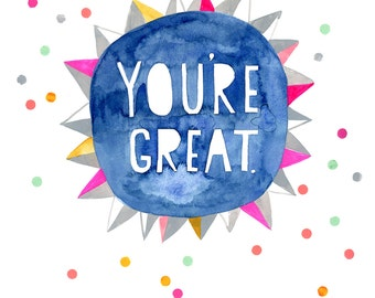 You're Great by Sarah Walsh