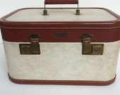 Vintage Train Case: AeroPak Deluxe Modern Luggage 1960s