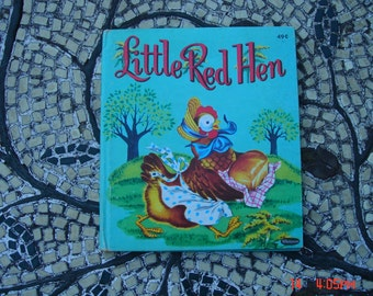 Little Red Hen - Illustrated by Beth Wilson -  a Whitman Book - Great Conition