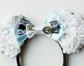Inspired Alice in Wonderland Rose Mouse Ears