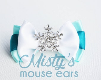 Inspired Elsa Slider Bow for Mgicband