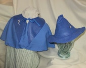 Fleur Outfit- Blue Cape and Witch Hat- Harry Potter- Beauxbatons Academy