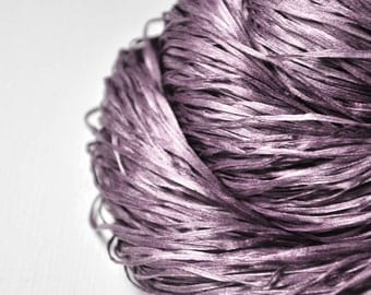 Withered magnolia OOAK - Silk Tape Lace Yarn - SUMMER EDITION