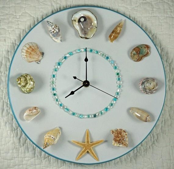 Seashell wall clock for Seashell wall clock