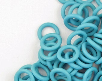 Rubber Rings, Baby Blue, 12mm #1083