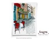 Geraniums at the Boulangerie: Paris Letters, August