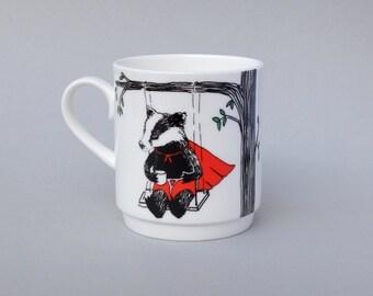 Badger Stack-able Tea Mug