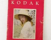 Kodak Catalogue from 1929