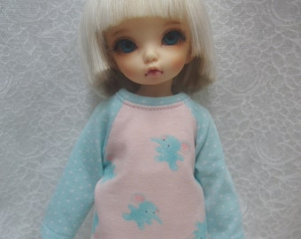 Super Dollfie Yo SD Littlefee Pink Sweater - Elephant