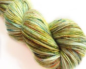 MyPrecious Mystery Forest - Sock base - Handdyed fingering weight yarn wool nylon