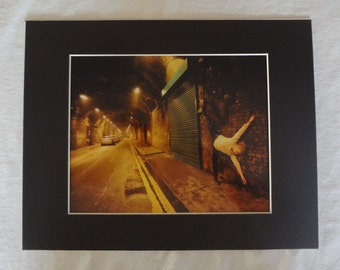 Marked Up London Dance photography Matted Metallic Print