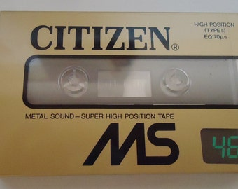 Citizen MS  High Position. Type II. Cassette tape