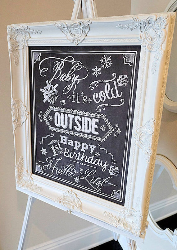 Birthday CHALKBOARD Framed White Chalk Board Photo Prop MAGNETIC Blackboard Birthday Sign Party Sign Unique Housewarming Gift Farmhouse