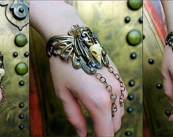 Art nouveau Moth bracelet