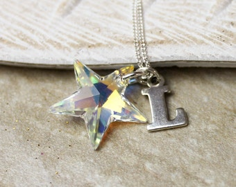 Wish Upon A Star Silver Necklace