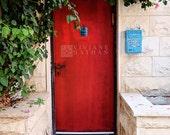 Door, Red door, Door photography,  Tel Aviv door