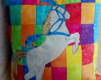 Circus Horse Pillow