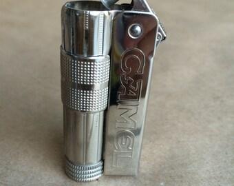 Vintage Silver Camel Lighter