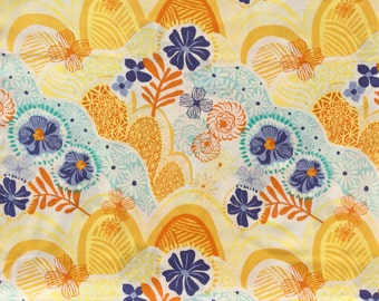 Daydream Kate Spain Hills Valleys yellow moda fabrics FQ or more