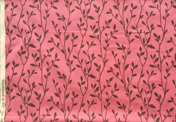 MoMo Wonderland Garden Party jam pink moda fabrics FQ