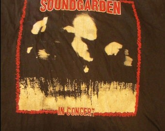 "Vintage Soundgarden ""Parking Lot"" Concert T-Shirt"